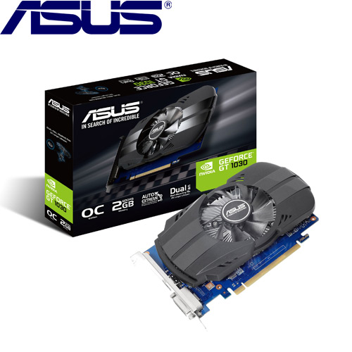 【拆封品出清】ASUS華碩 GeForce PH-GT1030-O2G 顯示卡