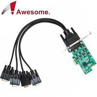 Awesome 4埠高速RS-232 PCIe I/O卡 52002