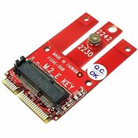 Awesome PCIe M.2 Wireless模組轉miniPCIe轉接卡AWD-DT-134E