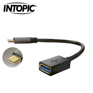 INTOPIC USB Type-C OTG傳輸線 CB-OTGC-02