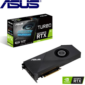 ASUS華碩 GeForce TURBO-RTX2060-6G 顯示卡