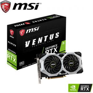 MSI微星 GeForce RTX 2060 VENTUS 6G OC 顯示卡