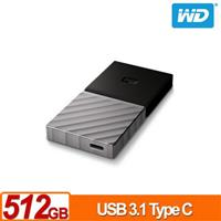 WD My Passport SSD 512GB 外接式固態硬碟(USB3.1 Gen2)