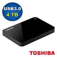 TOSHIBA Canvio Advance V9 4TB 2.5吋 行動硬碟-黑