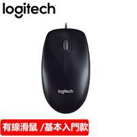 Logitech 羅技 M100r 2代 有線光學滑鼠