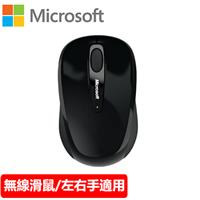 Microsoft 微軟 3500 無線行動滑鼠 黑