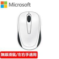 Microsoft 微軟 3500 無線行動滑鼠 白