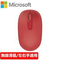 Microsoft 微軟 1850 無線行動滑鼠 火焰紅