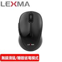 LEXMA 雷馬 M300R 無線光學滑鼠 黑