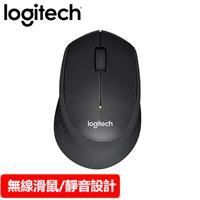 Logitech 羅技 M331 無線靜音滑鼠 黑
