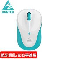 WiNTEK 文鎧 6100 藍牙無線滑鼠第三代 白綠