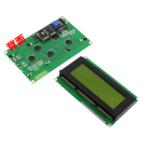 IIC/I2C LCD1602液晶螢幕模組 藍屏