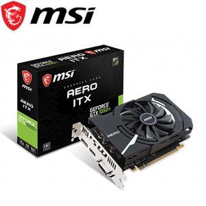 MSI微星 GeForce GTX 1050 Ti AERO 4G OC 顯示卡