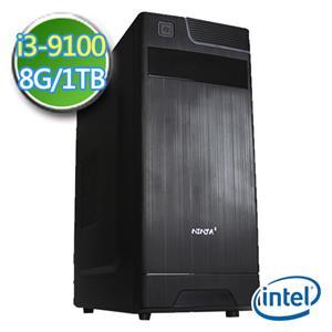 華碩H310平台【EI391-AH31K04】i3四核 1TB效能電腦
