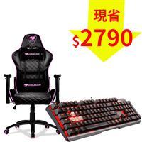 【超值組】美洲獅 ARMOR ONE 粉紅+微星 GK60電競鍵盤
