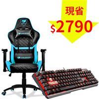 【超值組】美洲獅 ARMOR ONE 藍+微星 GK60電競鍵盤