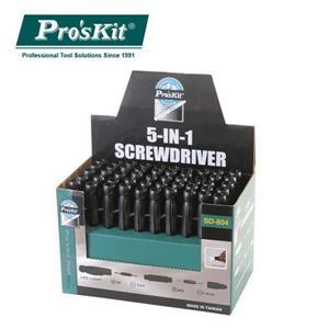 Pro'sKit寶工5-IN-1 LED雙頭起子SD-804(50支裝)