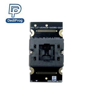 DediProg岱鐠 SPI-127 WSON008 060080 001P 燒錄座