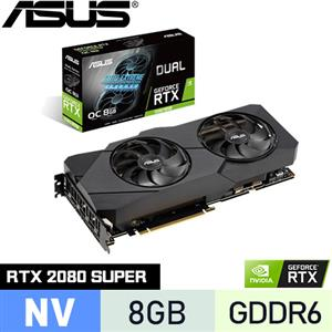 ASUS華碩 GeForce DUAL-RTX2080S-O8G-EVO 顯示卡
