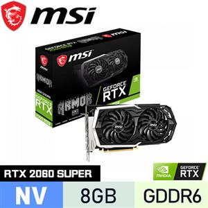 MSI微星 GeForce RTX 2060 SUPER ARMOR OC 顯示卡
