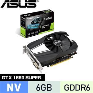 ASUS華碩 GeForce PH-GTX1660S-O6G 顯示卡