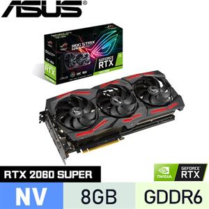 ASUS華碩 GeForce ROG-STRIX-RTX2060S-O8G-EVO-GAMING 顯