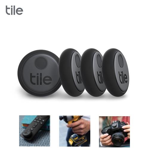 Tile Sticker 智慧藍芽防丟尋物器 4入