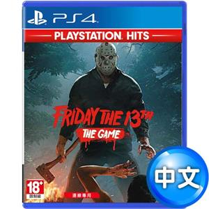 【客訂】PS4遊戲  十三號星期五 (Friday the 13th: The Game)-中英文版