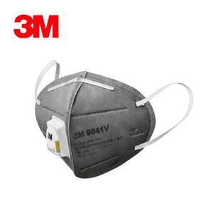 3M 9041V空污微粒防護口罩 活性碳帶閥型2片包