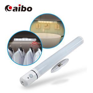 aibo LI-03A 智能LED 紅外線人體感應 磁吸式照明燈(電池供電)-白光