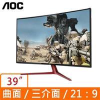 AOC 39型 G3908VWXA 曲面液晶寬螢幕