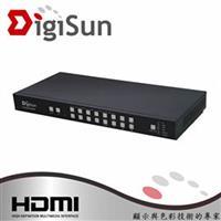 DigiSun MV491 4K 9路HDMI畫面分割器(無縫切換) 專業型