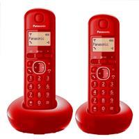 Panasonic炫彩數位雙手機無線電話KX-TGB212TW紅
