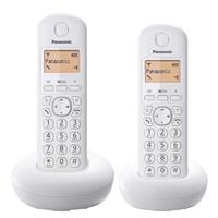 Panasonic炫彩數位雙手機無線電話KX-TGB212TW白