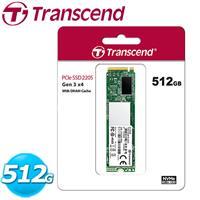 Transcend 創見 PCIe Gen3x4 MTE220S M.2 固態硬碟 SSD 512G