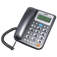 HTT來電顯示有線電話HTT-F505(灰)