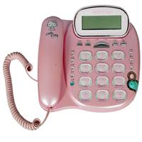 Hello kitty經典來電顯示有線電話KT-229T(粉)
