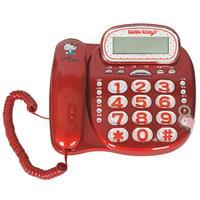 Hello kitty經典來電顯示有線電話KT-229T(紅)