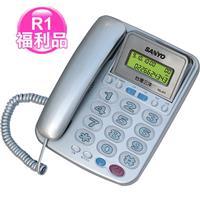 R1【福利品】三洋來去電報號助聽有線電話TEL-817