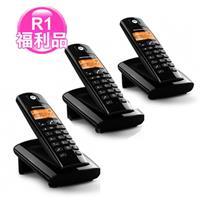 R1【福利品】MOTOROLA數位無線電話D-101O超值3台/組
