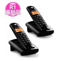 R1【福利品】MOTOROLA數位無線電話D101O超值2台/組