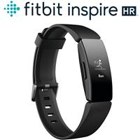 Fitbit Inspire HR 智能健身手環(黑框黑錶帶)