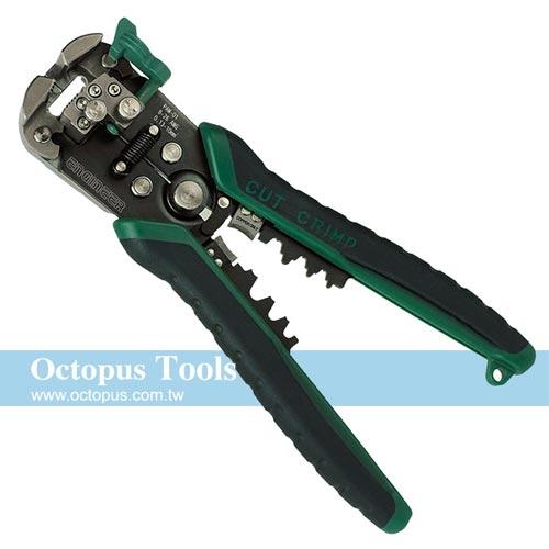 Octopus 日本製 ENGINEER 免對孔快速三合一剝線鉗 PAW-01