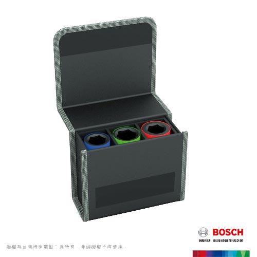 BOSCH  1/2吋3件式套筒組 (2608551102)