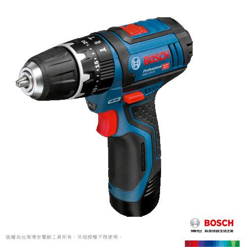 BOSCH 12V 充電式震動電鑽 GSB 12-2-LI Professional