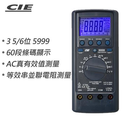 CIE 3 5/6 TRMS 多功能LCR數字電錶 CIE-9008