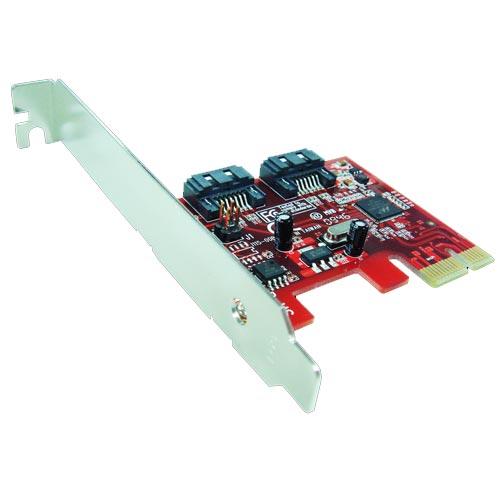 Awesome PCIe 2.0雙槽SATAIII 6Gbps磁碟陣列卡-AWD-PE-115