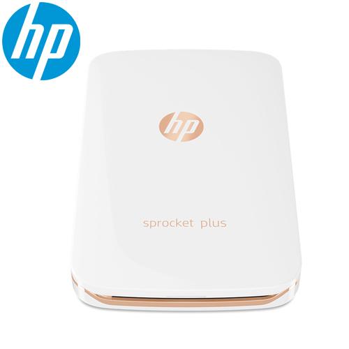 HP Sprocket Plus 迷你印相機-白