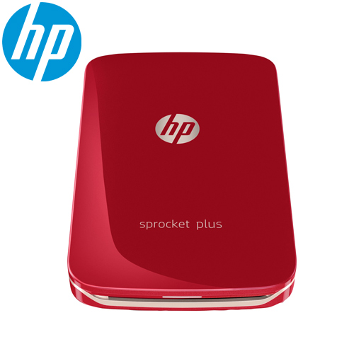 HP Sprocket Plus 迷你印相機-紅