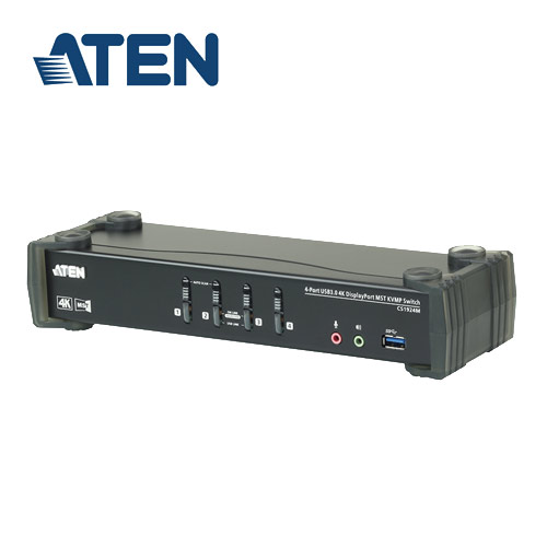 ATEN CS1924M 4埠USB3.0 4K DisplayPort MST KVMP多電腦切換器